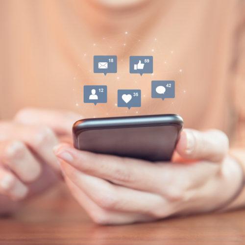engajamento de mídias sociais